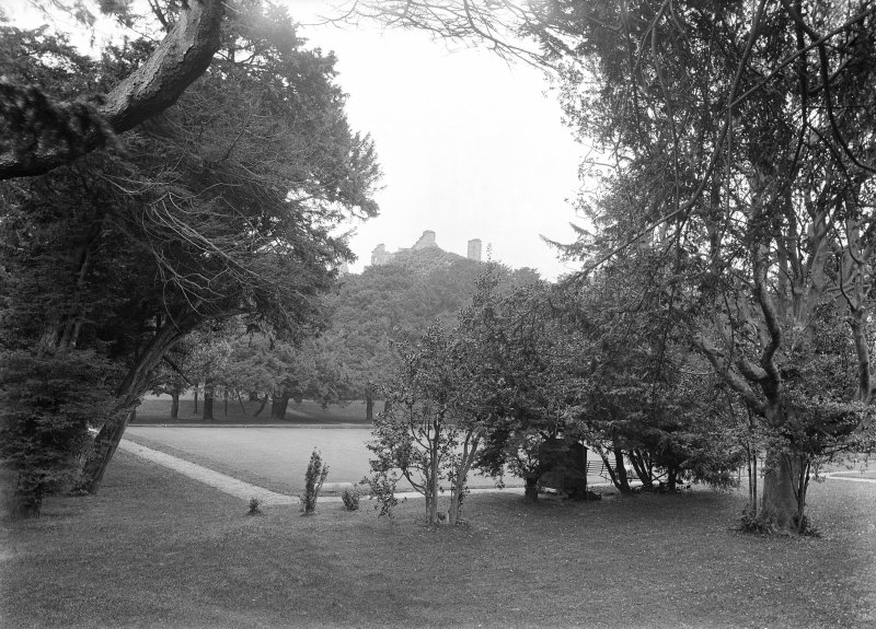 View of lawn.