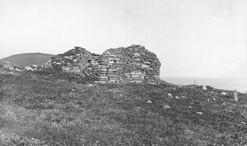 View of chapel and oratory from NW, Inventory fig. 24.
