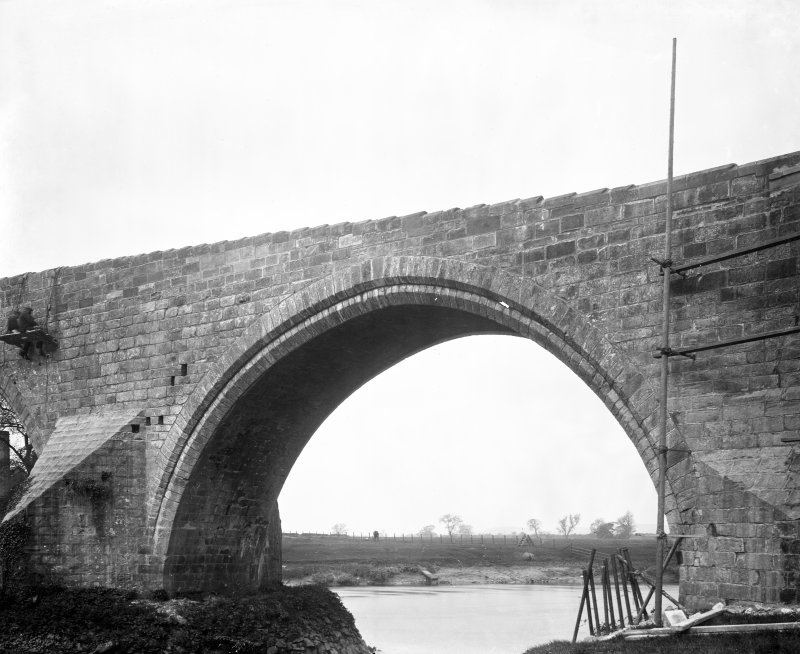 View of N arch.