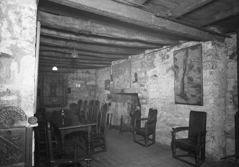 Provand's Lordship, interior View of Mary Queen of Scots' room