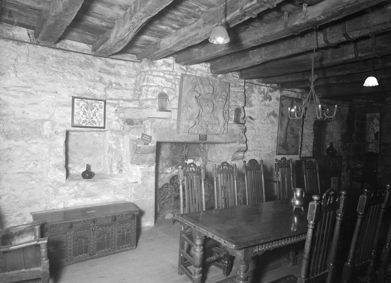 Provand's Lordship, interior View of large room on mid floor