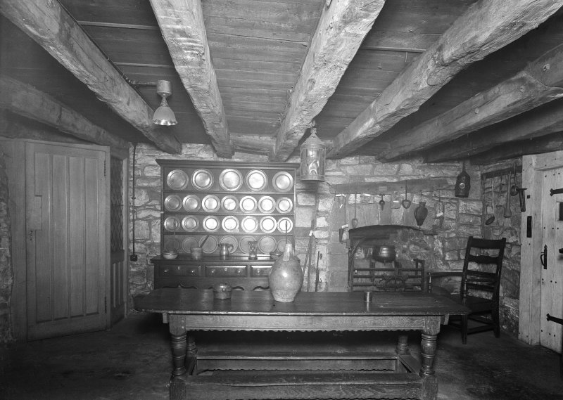 Provand's Lordship, interior View of kitchen-type room