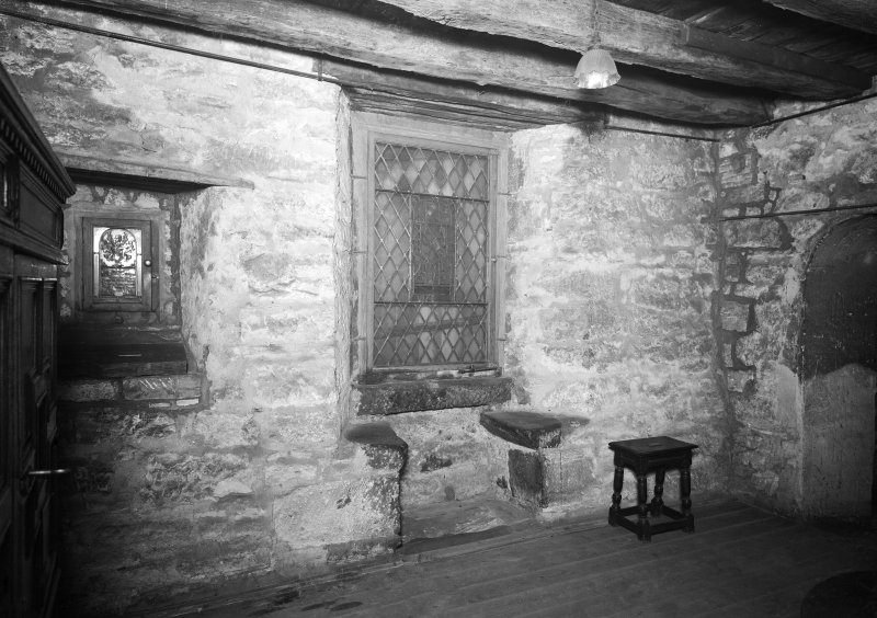Provand's Lordship, interior View of window