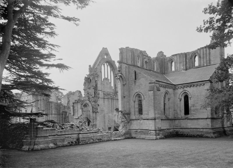 View of N transept from NE.