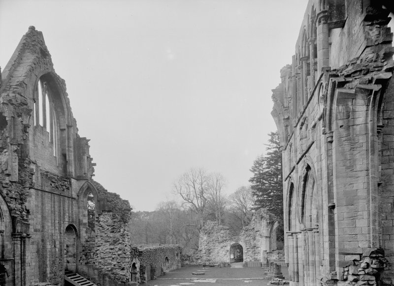 View of nave from E.