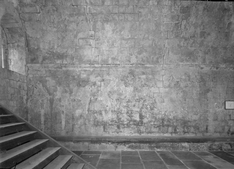 Interior. Detail of steps.