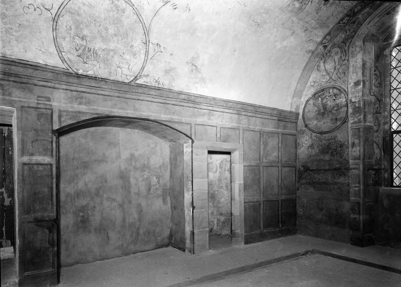 Interior. View of N room after restoration.