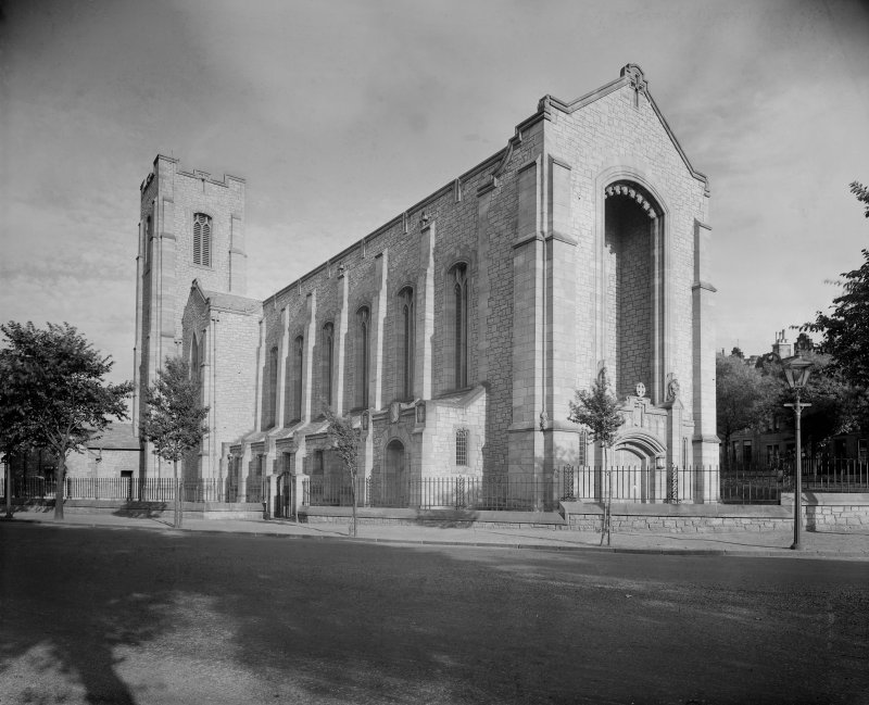 West Saville Terrace, Reid Memorial Church. General view from North West.
