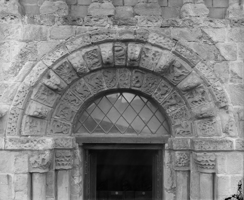 Dalmeny Parish Church Detail of South entrance