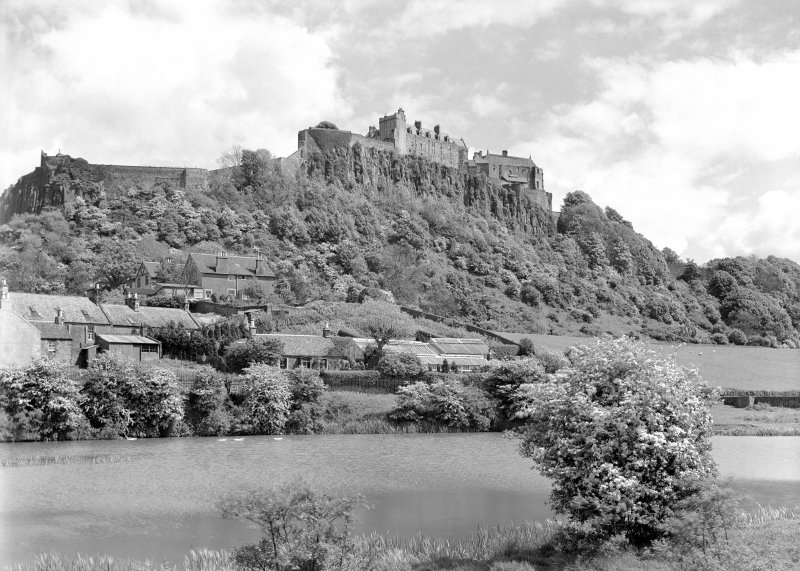 View of Stirling Castle from W.