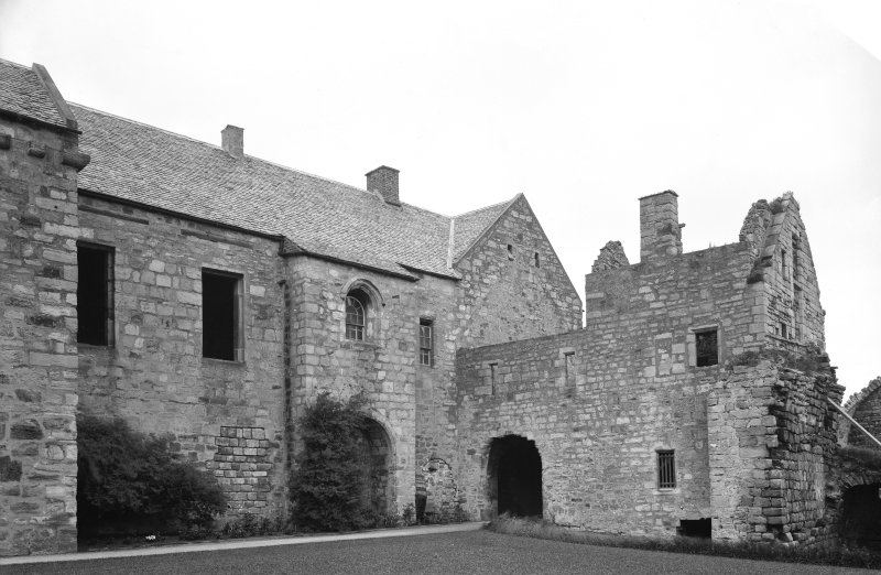 South cloister & entry from the South West
