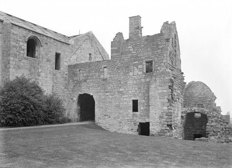 Entry & cellar from the South West