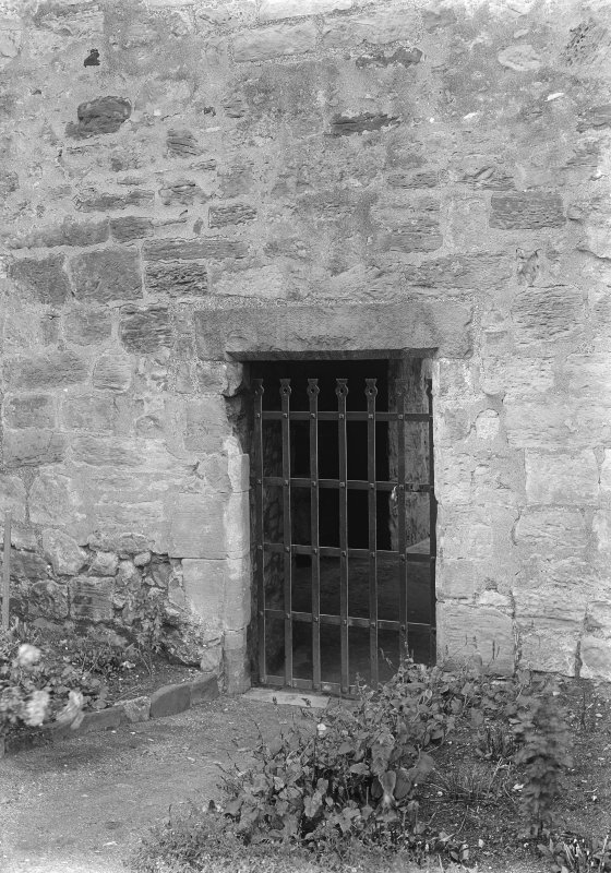 Doorway with irongate