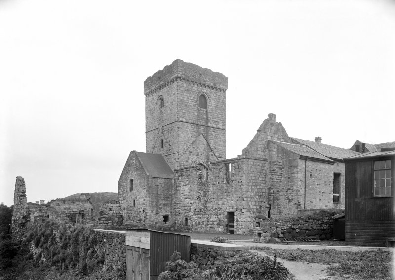 Nave & tower from North West