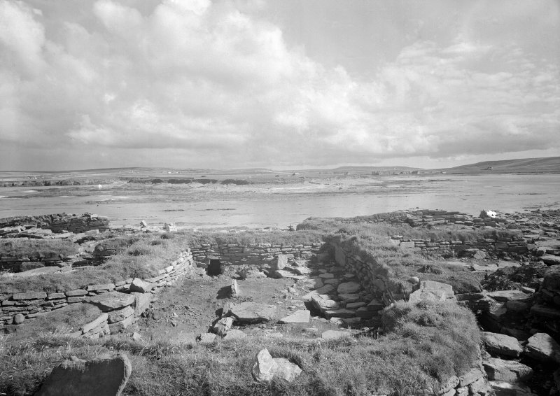 View of domestic remains before repair.