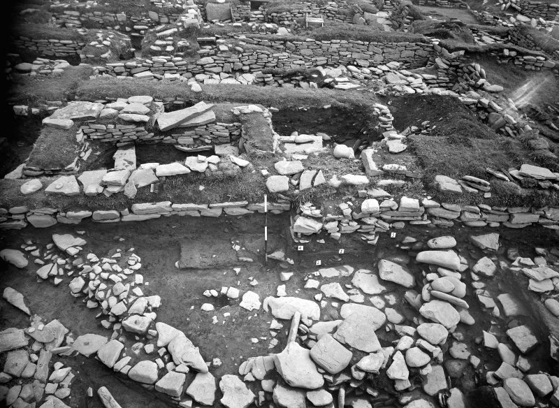 Excavation Photograph: Norse settlement under excavation.