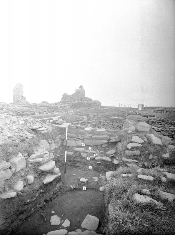 Excavation Photograph: Norse structure.
