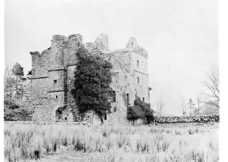Carnassarie Castle. General view from North-West.