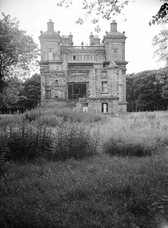 View of Duff House from West.