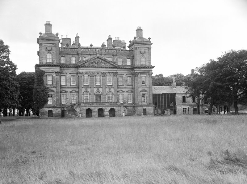 View of Duff House from South.