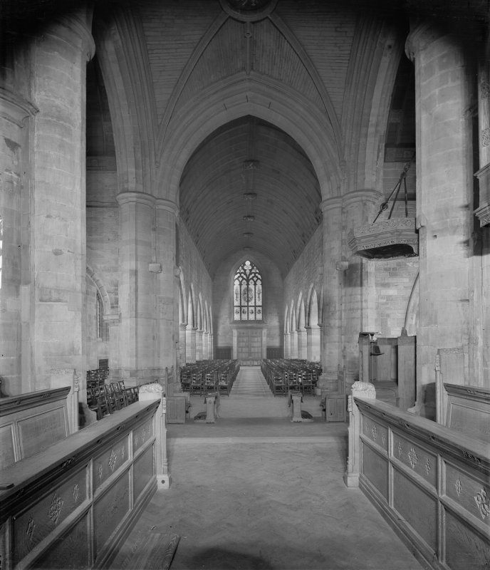 Perth, St John's Place, St John's Church. Interior view from choir.