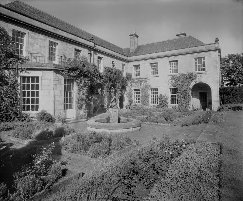 View of garden, Midfield House, Lasswade.