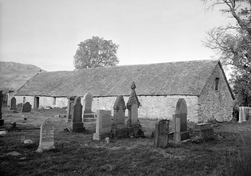 Exterior view of St Mary's Church, Grandtully.