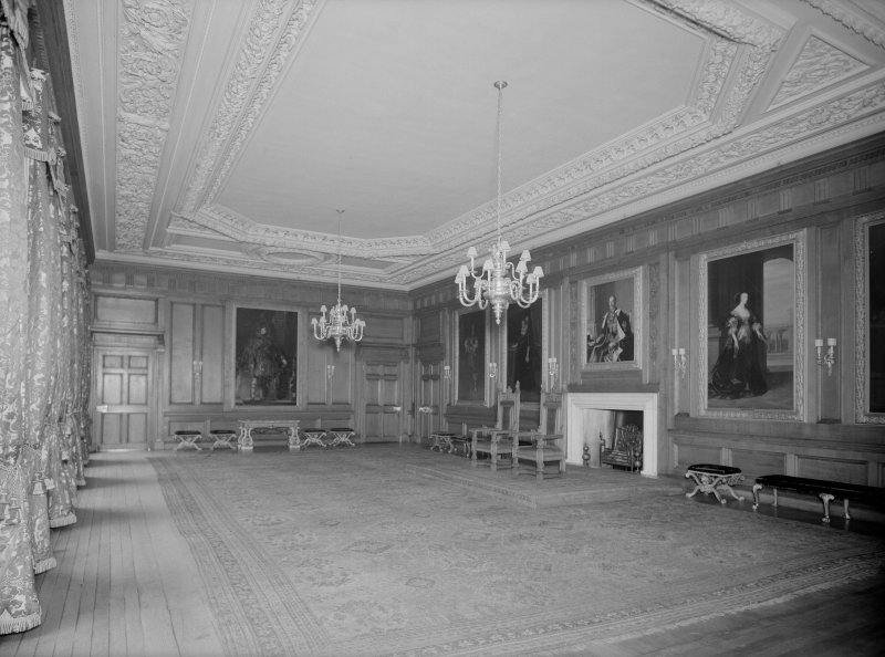 Interior-general view of Throne Room