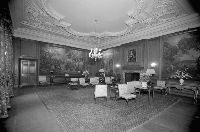 Interior-general view of Evening Drawing Room
