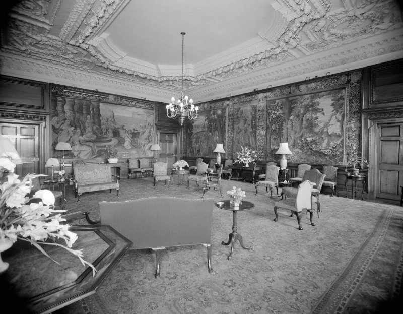 Interior-general view of Morning Drawing Room