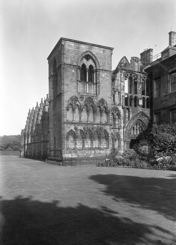 General view of West front of Holyrood Abbey