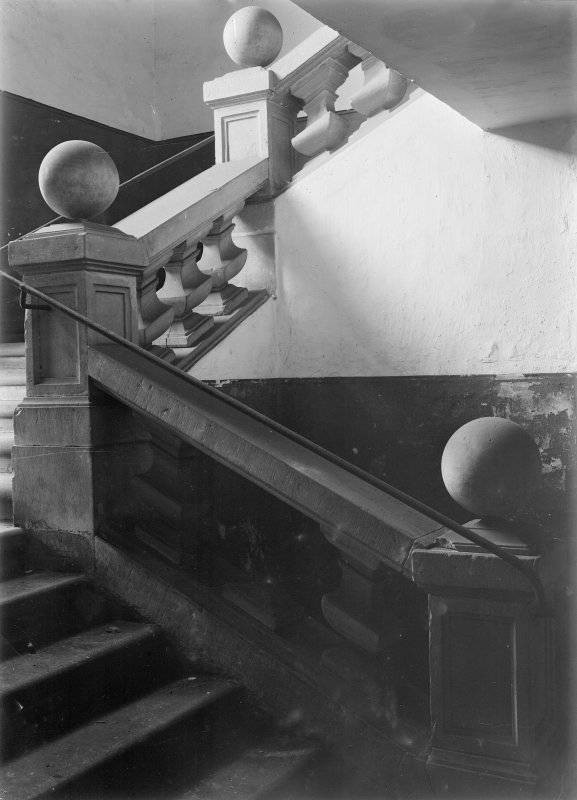 Interior. View of staircase.