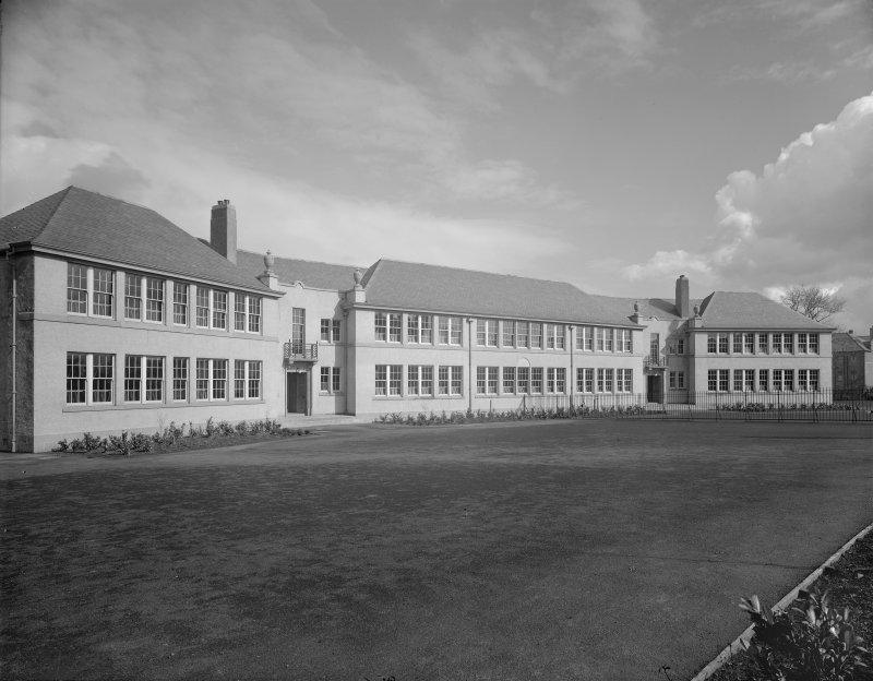 Edinburgh, Niddrie Mains Road, St. Francis School. General view.