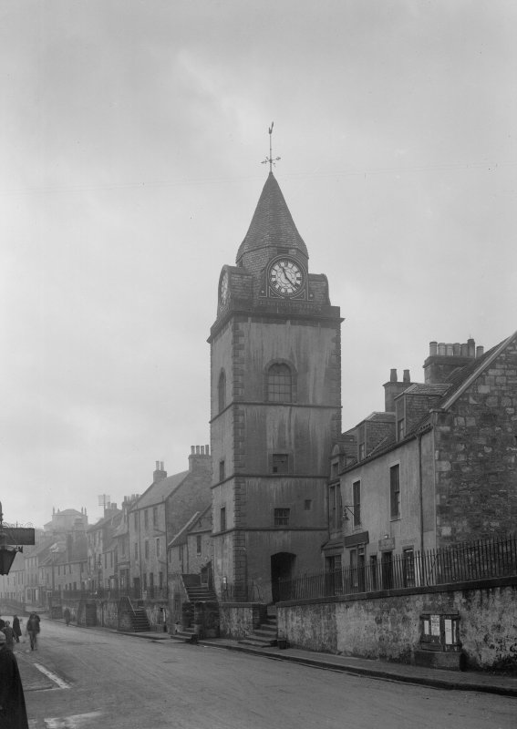 South Queensferry, High Street,Tolbooth. General view.