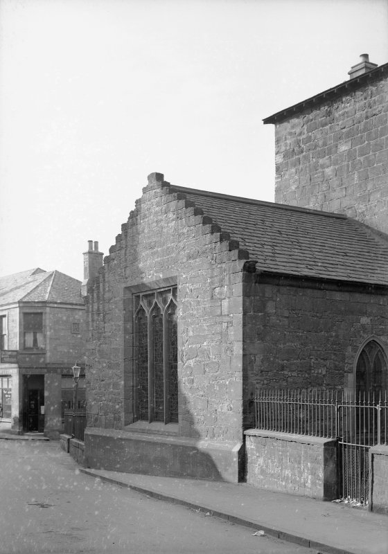 South Queensferry, Carmelite Friary Church. View of South transept.
