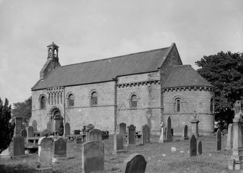 Dalmeny Parish Church View from South East