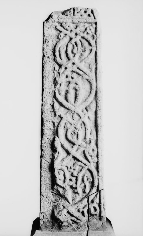 Detail showing cross shaft.
