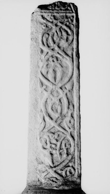 Detail of W side of cross-shaft.