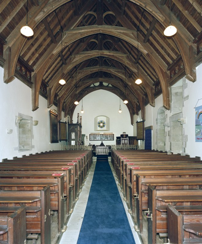 Interior. View from W.