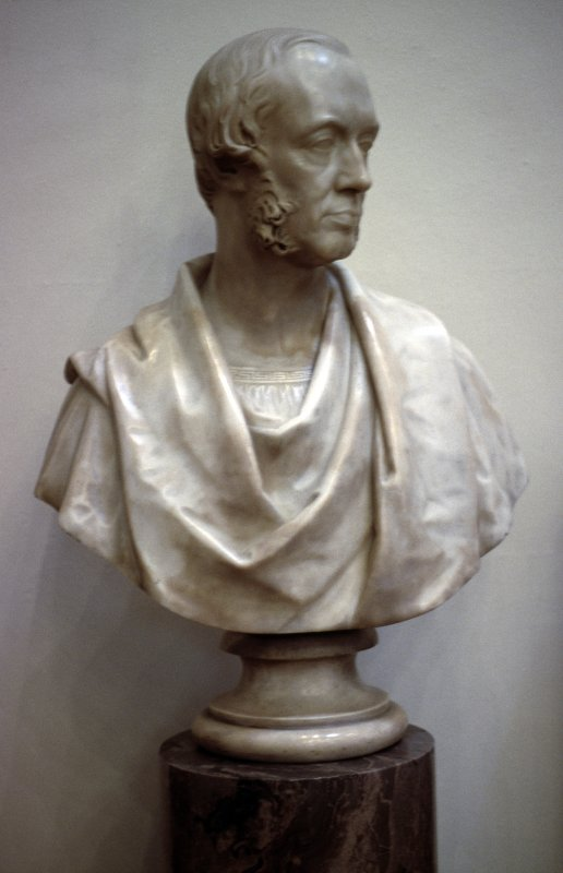 View of bust of John Inglis, in Parliament Hall.