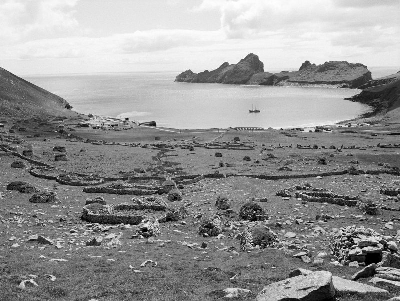 Hirta, Village Bay. General view towards bay.