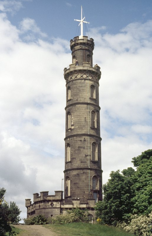 View of Nelson Monument.