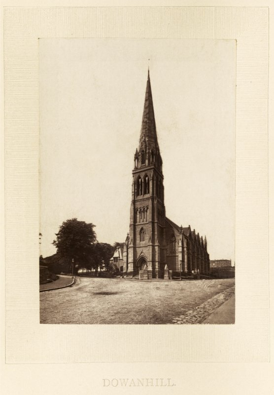 View of Dowanhill United Presbyterian Church, Glasgow.