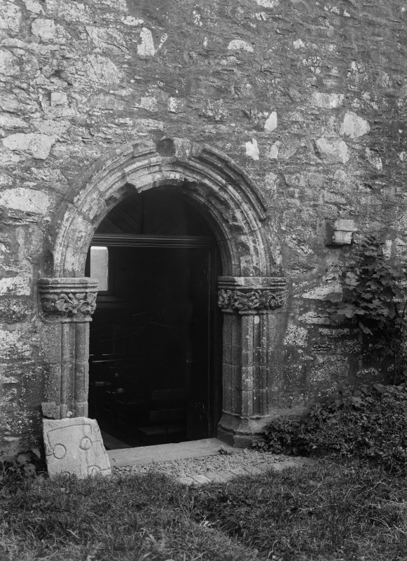 View of Chapter House doorway.