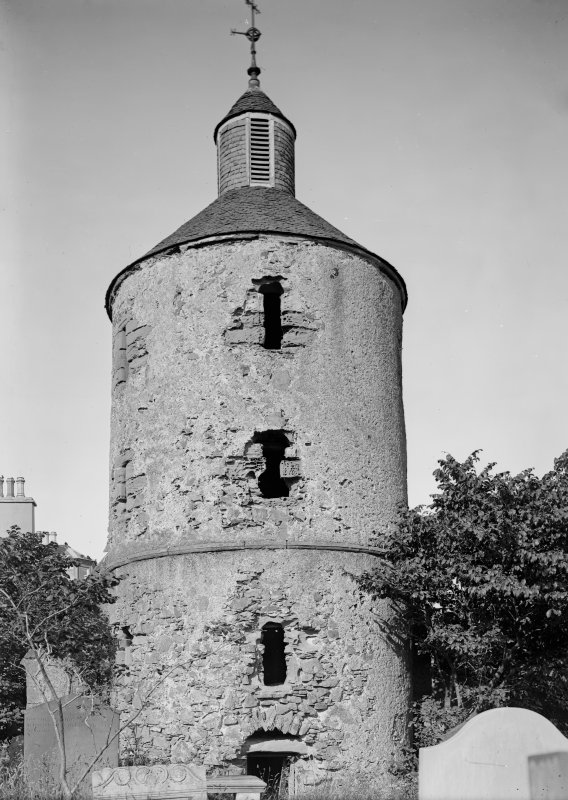 View of round tower.