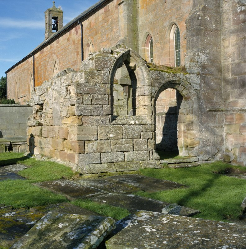 Fearn Abbey.  South East aisle, view from South East.