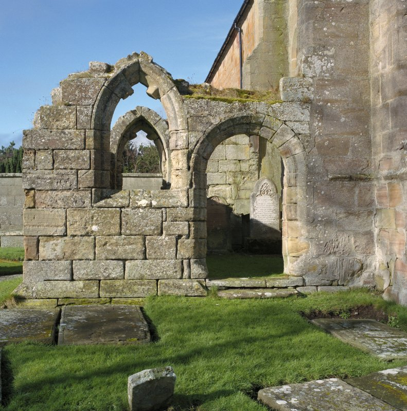 Fearn Abbey.  South East aisle, view from East.