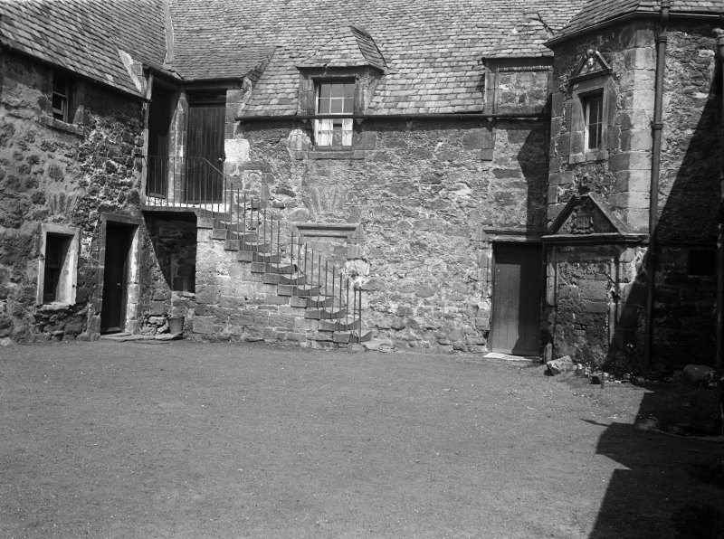 View of Hamilton House, Prestonpans, from courtyard to W.