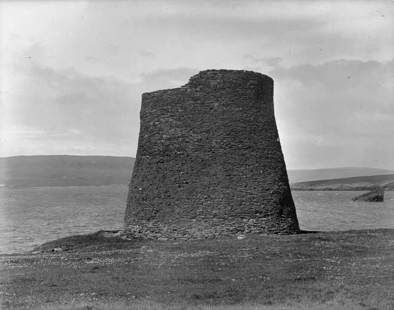 View of the Broch of Mousa.
