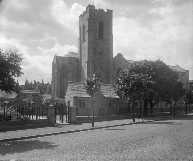 West Saville Terrace, Reid Memorial Church. General view from North East.